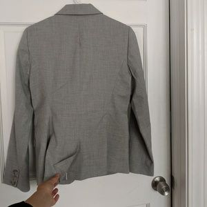 The Limited Jackets & Coats - Size 4 The Limited Heathered Grey Blazer